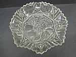 Lovely Vintage Pressed Glass Frilled Bowl