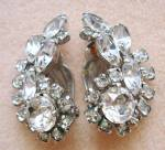 Rhinestone Sherman Earrings