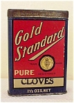 Lovely Old Spice Tin - Gold Standard - Cloves