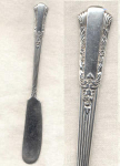 Treasure Rogers Silver Plate Butter Knife
