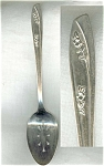 Lady Fair Rogers Slotted Spoon Silver Plated
