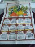 1977 Calendar Towel