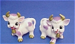 Cute Purple Spots Cows Salt And Pepper