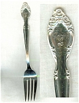 Woodland Rose International Salad Fork