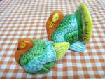 Figural Salt & Pepper Turkey Pair