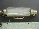 20's Deco Above The Bed Bullet Glass Lamp
