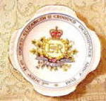 Royalty Dish - 1953 Coronation/h.m. Queen