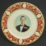 Royalty H.r.h. Duke Of Edinburgh Metal Plate