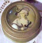 Antique Music-powder Box