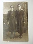 Old Victorian Photograph-two Pretty Sisters