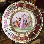 Antique Plate - Beehive Mark - Gold Gilt