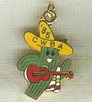 Cwba 1985 California Women's Bowling Pin