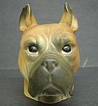 Rubens Originals Head Vase Serious Dog