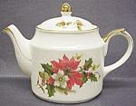 Sadler Christmas Teapot