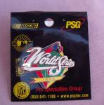 1999 World Series Baseball Pin On Card