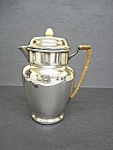 Victorian Silver Plate Hot Water Jug