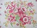 Pretty Vintage Shabby Chic - Floral Hankie -