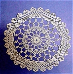 Pretty Tatting Lace Doily - Tatted