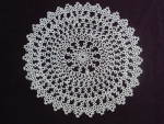 Lovely Vintagetatted Lace Round Doily