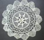 Beautiful Vintage Doily Hand Made