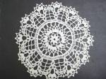 Doily - White Crochet Lace-princess Pattern