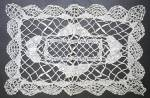 Beautiful Vintage Figural Lace