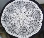 Hand Crochet Lace Centre Round Piece