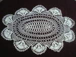 Oval Tray Doily Large