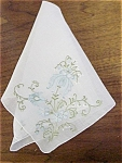 Wonderful Embroidery & Applique Hankie