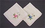 Pai R- Embroidered Serviettes - Napkins