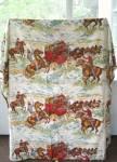 Vintage Western Style Bedspread
