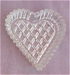 Bridge Clear Heart Ash Tray Nut Dish
