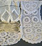 Lot Of 5 Piece Crochey Lace