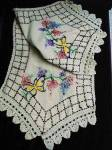 Superb Silk Thread Embroidery Runner