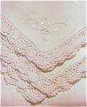 Exquisite Tea Tablecloth Set Bobbin Lace Edge