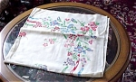 Pretty 40's Printed Tablecloth Field Flowers