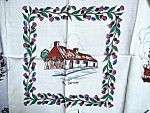 Tablecloth Thistle&burns Cottage Plus
