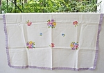 Tablecloth - Embroidery - Roses