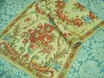 Antique Silk Thread Tapestry Runner