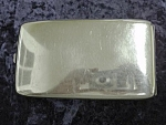 Antique Long - Silver Plated Cigaret Case