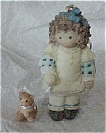 Down Petticoat Lane Girl W/ Kitty '99 Enesco