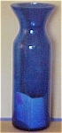 Tall Narrow Cobalt Cylinder Vase