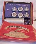 40's 50's Aluminum Cake Decorator Set