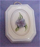 Coventry Blue Capodimonte-like Small Plaque