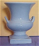 Blue Pink Urn Shape Two Handled Vase #871