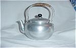 Aluminum Teapot Bakelite Handle