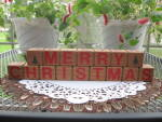 Country Folk Art Greeting Blocks Christmas Easter Friends
