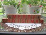 Country Folk Art Greeting Blocks Christmas Easter Friends