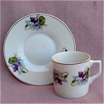 Child Size Voilets Cup & Saucer Wales Japan