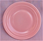 Moderntone Little Hostess Pastel Pink Plate